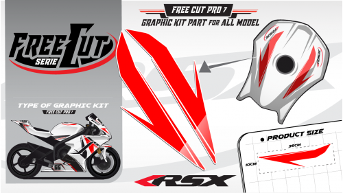 Fuel tank F6 Graphic kit