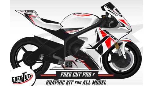 F7 Graphic kit FreeCut