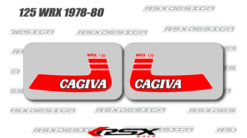 CAGIVA 125 WRX 1978-80