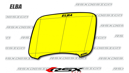 HEADLIGHT PLATE ELBA