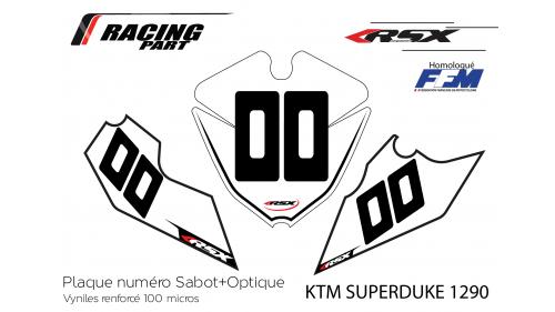 KTM SD1290 plate number
